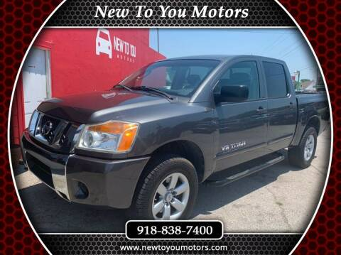 2011 Nissan Titan for sale at New To You Motors in Tulsa OK
