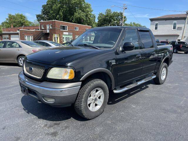 2002 Ford F-150 for sale at JC Auto Sales in Belleville IL