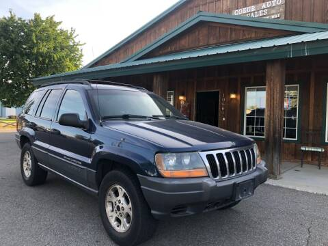 2001 Jeep Grand Cherokee for sale at Coeur Auto Sales in Hayden ID