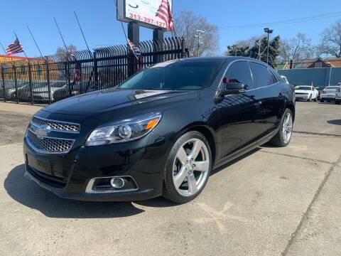 2013 Chevrolet Malibu for sale at Gus's Used Auto Sales in Detroit MI