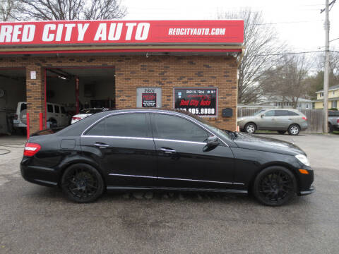 2010 Mercedes-Benz E-Class for sale at Red City  Auto in Omaha NE