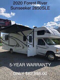 2020 Forest River Sunseeker for sale at RV Wheelator in North America AZ