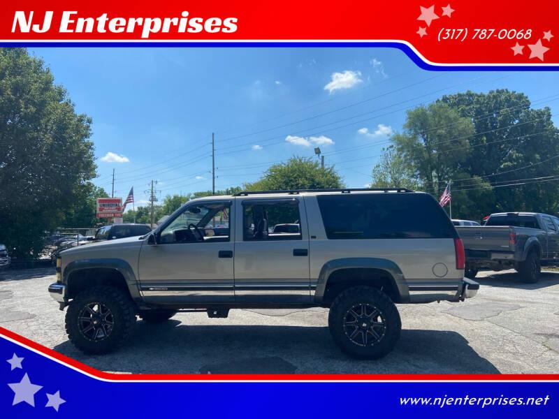 1999 Chevrolet Suburban for sale at NJ Enterprises in Indianapolis IN