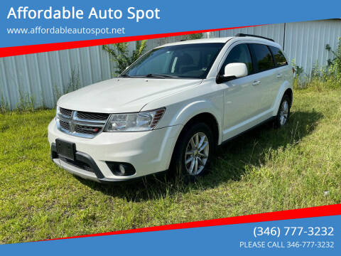 2013 Dodge Journey for sale at Affordable Auto Spot in Houston TX