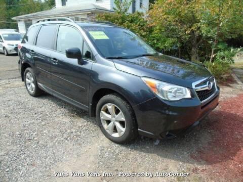 2014 Subaru Forester for sale at Vans Vans Vans INC in Blauvelt NY