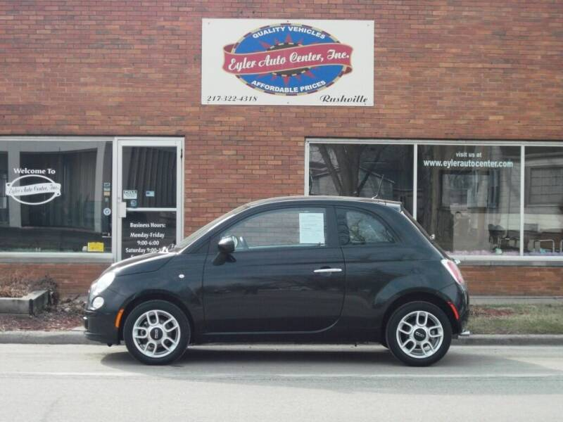 2013 FIAT 500 for sale at Eyler Auto Center Inc. in Rushville IL