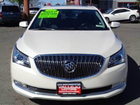 2014 Buick LaCrosse for sale at Vallejo Motors in Vallejo CA
