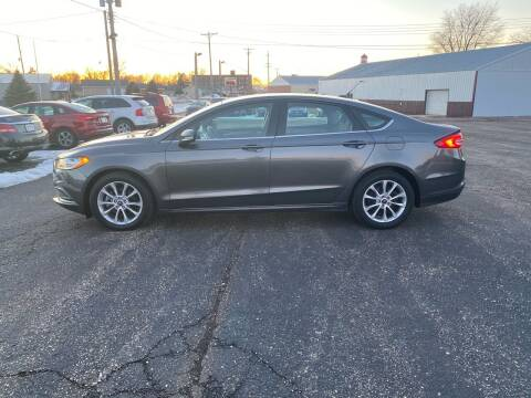 2017 Ford Fusion for sale at Diede's Used Cars in Canistota SD
