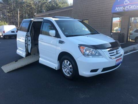 2008 Honda Odyssey for sale at New England Motor Car Company in Hudson NH