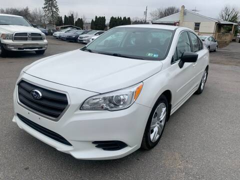 2016 Subaru Legacy for sale at Sam's Auto in Akron PA