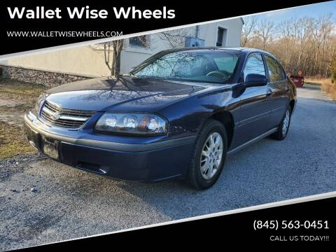 2002 Chevrolet Impala for sale at Wallet Wise Wheels in Montgomery NY