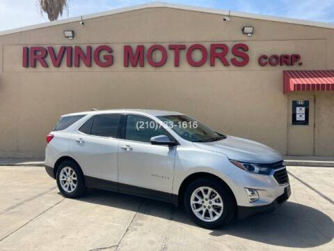 2018 Chevrolet Equinox for sale at Irving Motors Corp in San Antonio TX
