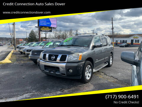 2006 Nissan Armada for sale at Credit Connection Auto Sales Dover in Dover PA