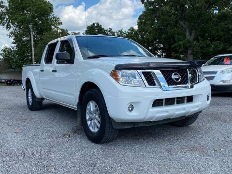 2015 Nissan Frontier for sale at TINKER MOTOR COMPANY in Indianola OK