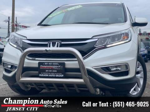 2015 Honda CR-V for sale at CHAMPION AUTO SALES OF JERSEY CITY in Jersey City NJ