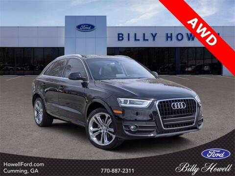 2015 Audi Q3 for sale at BILLY HOWELL FORD LINCOLN in Cumming GA