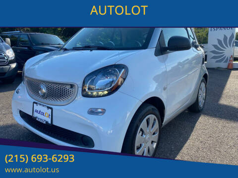 2016 Smart fortwo for sale at AUTOLOT in Bristol PA