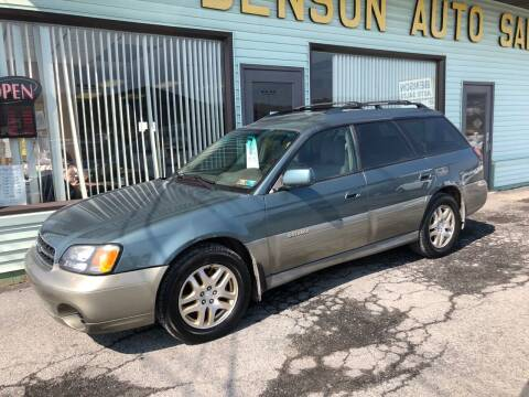 2002 Subaru Outback for sale at Superior Auto Sales in Duncansville PA