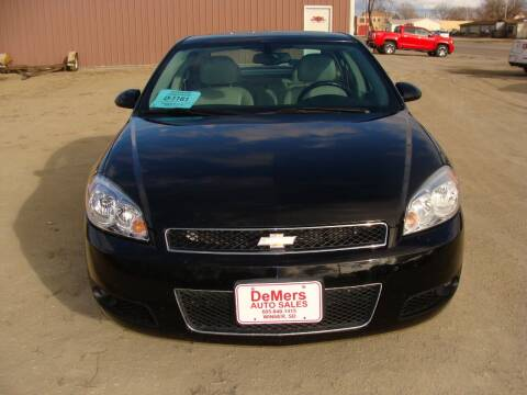 2012 Chevrolet Impala for sale at DeMers Auto Sales in Winner SD