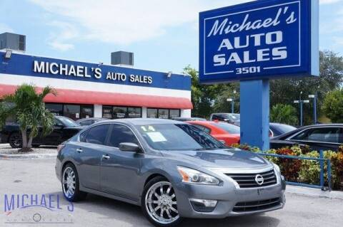 2014 Nissan Altima for sale at Michael's Auto Sales Corp in Hollywood FL