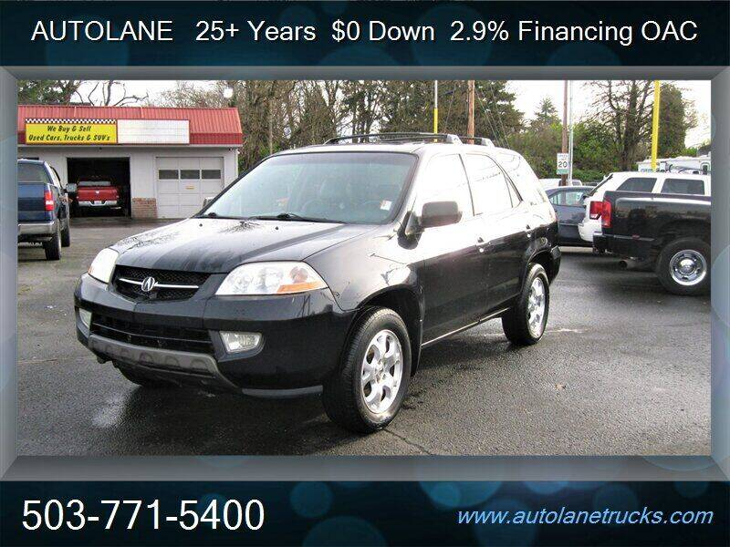 2002 Acura MDX for sale at Auto Lane in Portland OR