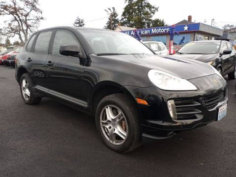 2008 Porsche Cayenne for sale at All American Motors in Tacoma WA