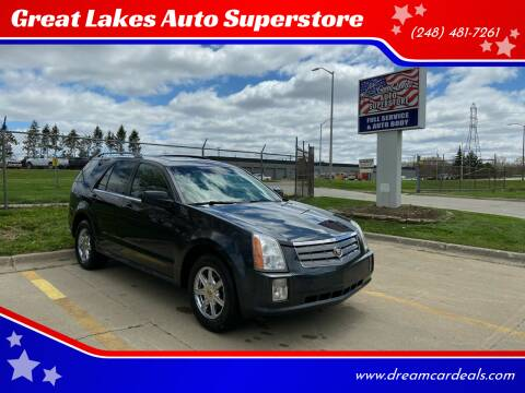 2004 Cadillac SRX for sale at Great Lakes Auto Superstore in Pontiac MI