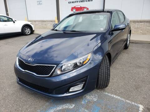 2015 Kia Optima for sale at Lifetime Auto LLC in Commerce City CO