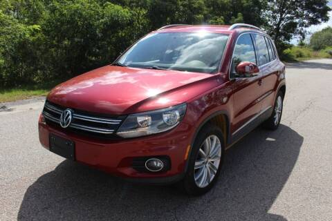 2014 Volkswagen Tiguan for sale at Imotobank in Walpole MA