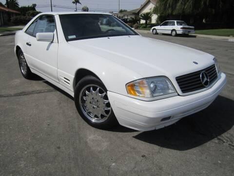 1997 Mercedes-Benz SL-Class for sale at SoCal Motors in Los Alamitos CA