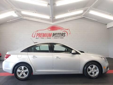 2016 Chevrolet Cruze Limited for sale at Premium Motors in Villa Park IL
