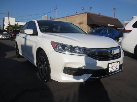 2017 Honda Accord for sale at Win Motors Inc. in Los Angeles CA