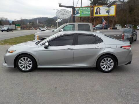 2019 Toyota Camry for sale at EAST MAIN AUTO SALES in Sylva NC