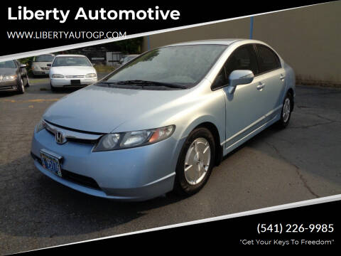 2008 Honda Civic for sale at Liberty Automotive in Grants Pass OR