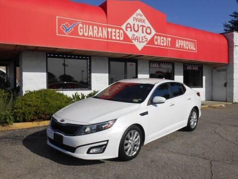 2015 Kia Optima for sale at Oak Park Auto Sales in Oak Park MI