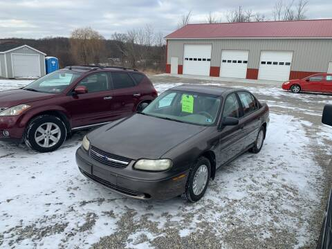 2001 Chevrolet Malibu for sale at Simon Automotive in East Palestine OH