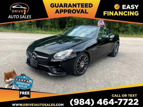 2018 Mercedes-Benz SLC for sale at Drive 1 Auto Sales in Wake Forest NC