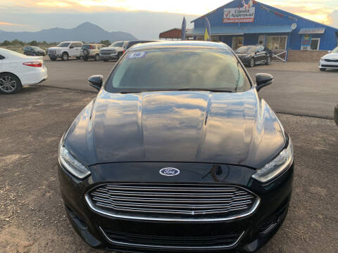 2016 Ford Fusion for sale at 4X4 Auto in Cortez CO