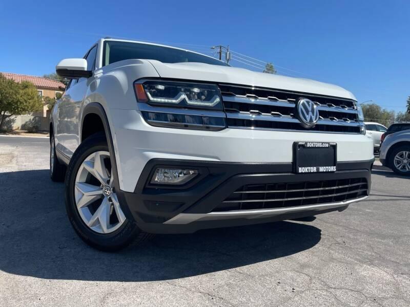 2019 Volkswagen Atlas for sale at Boktor Motors in Las Vegas NV