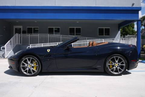 2013 Ferrari California for sale at PERFORMANCE AUTO WHOLESALERS in Miami FL