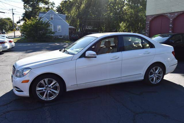 2013 Mercedes-Benz C-Class for sale at Absolute Auto Sales, Inc in Brockton MA