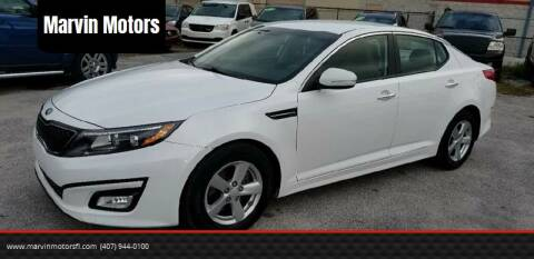 2015 Kia Optima for sale at Marvin Motors in Kissimmee FL