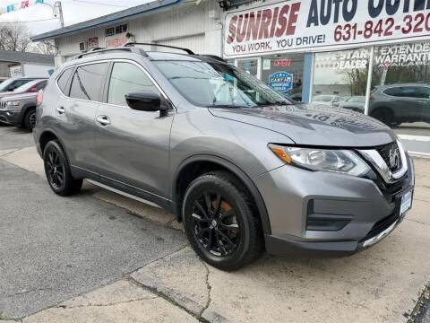 2017 Nissan Rogue for sale at Sunrise Auto Outlet in Amityville NY
