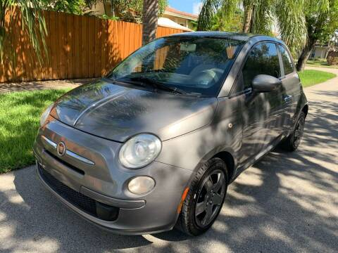 2012 FIAT 500 for sale at FINANCIAL CLAIMS & SERVICING INC in Hollywood FL
