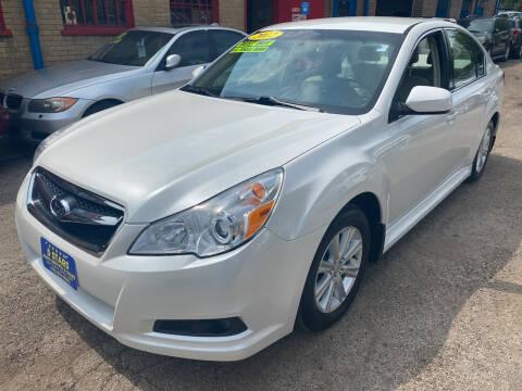 2012 Subaru Legacy for sale at 5 Stars Auto Service and Sales in Chicago IL