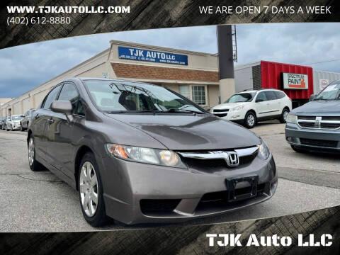 2011 Honda Civic for sale at TJK Auto LLC in Omaha NE