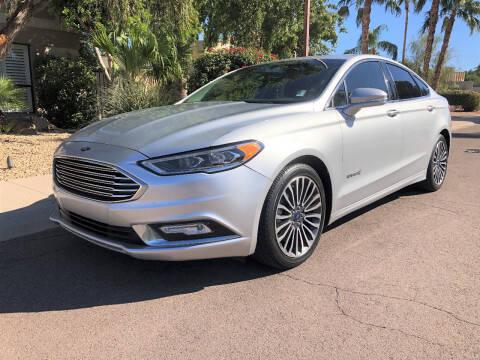 2017 Ford Fusion Hybrid for sale at Arizona Hybrid Cars in Scottsdale AZ