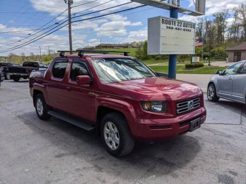 2006 Honda Ridgeline for sale at Route 22 Autos in Zanesville OH