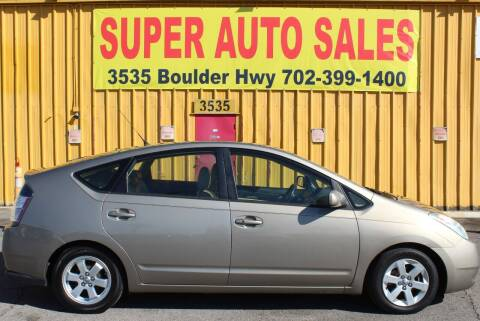 2005 Toyota Prius for sale at Super Auto Sales in Las Vegas NV