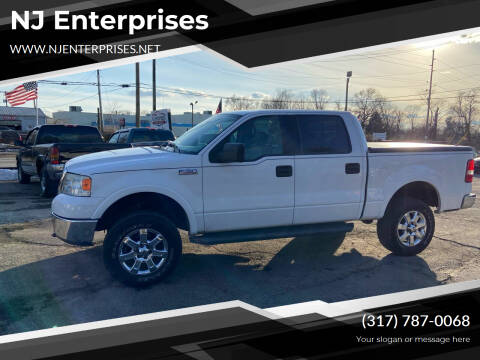 2006 Ford F-150 for sale at NJ Enterprises in Indianapolis IN